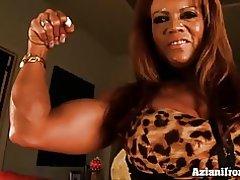 Muskujve babe pompave deri e saj të mëdha clit
