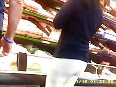 Sexy aziatike milf në të parë gjatë gjithë pantallona ne dyqan,
